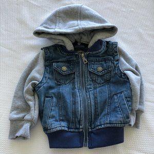 Urban Republic 18 Months Jeans Jacket Hoodie